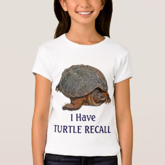 Snapping Turtle Terrapin-lover Funny Shirt