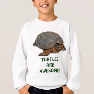 Snapping Turtle Terrapin-lover Gift Sweatshirt