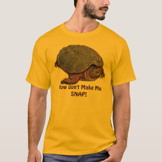 Snapping Turtle Terrapin-lover Gift T-Shirt