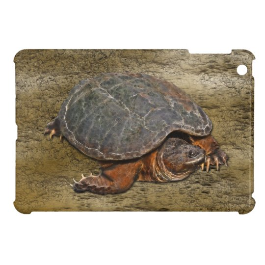 Snapping Turtle Terrapin-lover iPad Case
