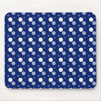 snappy blue dots mouse pad