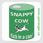 Snappy Cow sticker