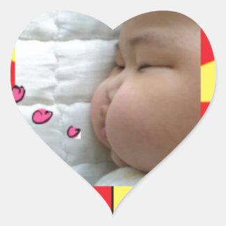 snapshot Baby Vic Inc 2. Heart Sticker