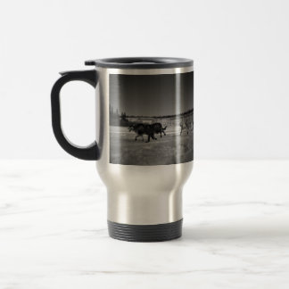 Snapshot of a Dog Race 15 Oz Stainless Steel Travel Mug