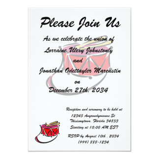 snare abstracted sling toy red.png 5x7 paper invitation card