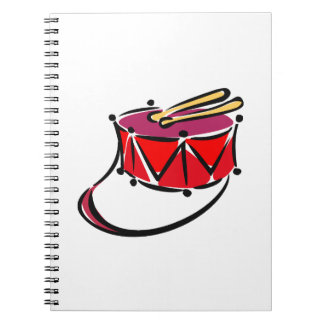 snare abstracted sling toy red.png notebook