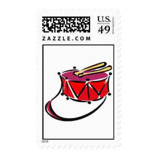 snare abstracted sling toy red.png postage stamps