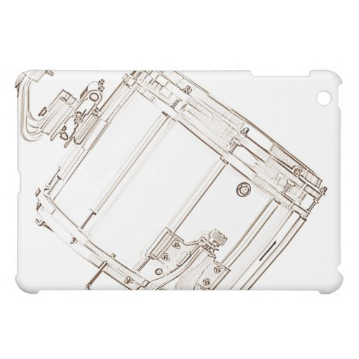 Snare Drum Drawing ipad Speck Case iPad Mini Cases