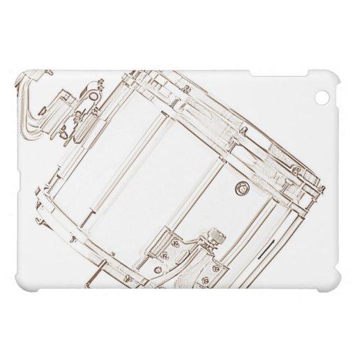 Snare Drum Drawing ipad Speck Case iPad Mini Cases