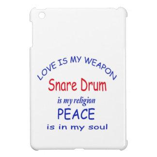Snare Drum is my religion iPad Mini Cover