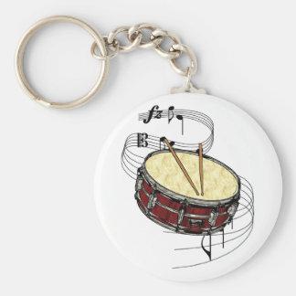 Snare Drum Keychain