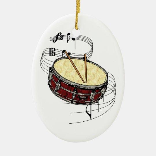 Snare Drum Ornament