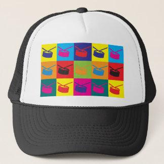 Snare Drum Pop Art Trucker Hat
