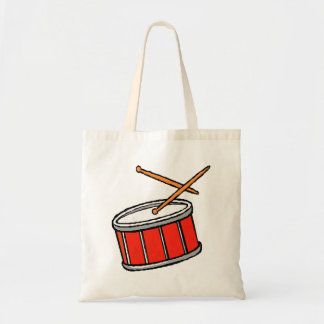 Snare Drum Red Tote Bag