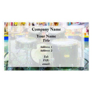 Snare Drum Set Business Card