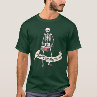 Snare Drum Skeleton T-Shirt