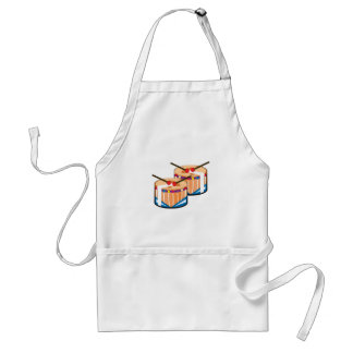 Snare Drums Adult Apron