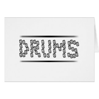 Snare Drums Card