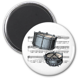 Snare Drums musical 05 B 2 Inch Round Magnet