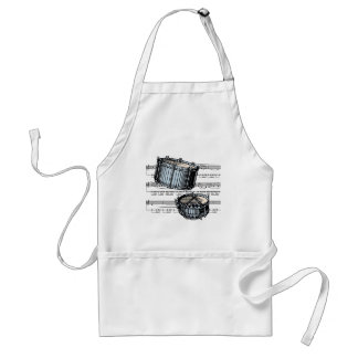 Snare Drums musical 05 B Apron