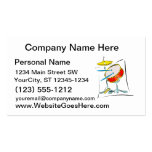 Snare HiHat Sticks Percussion Drum Set image Business Cards