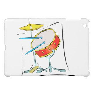 Snare HiHat Sticks Percussion Drum Set image iPad Mini Cases