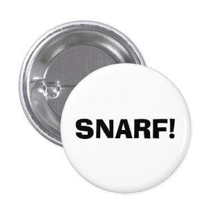 ¡Snarf! Pin Redondo De 1 Pulgada