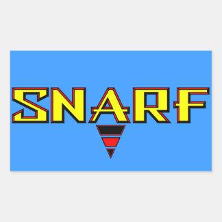 Snarf Rectangular Sticker