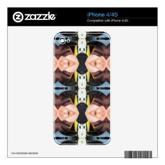 Snargle Pattern iPhone 4S Skins