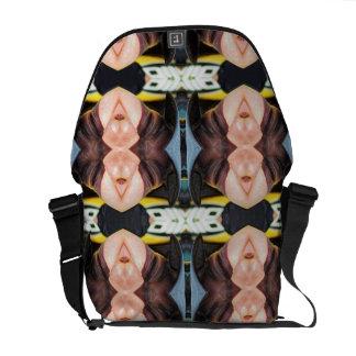 Snargle Pattern Commuter Bag