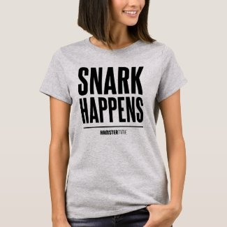 Snark Happens - Black Lettering T-Shirt