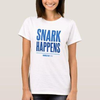 Snark Happens - Blue Lettering T-Shirt