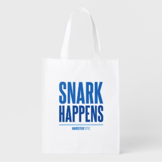 Snark Happens - Grocery Bag