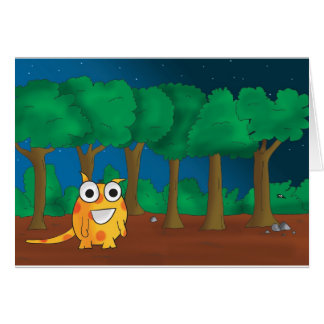 Snark in Forest Card