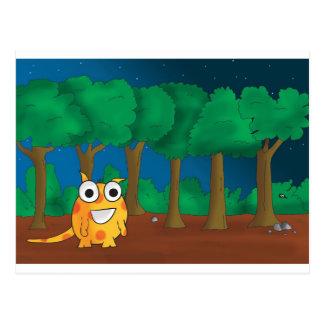 Snark in Forest Postcard