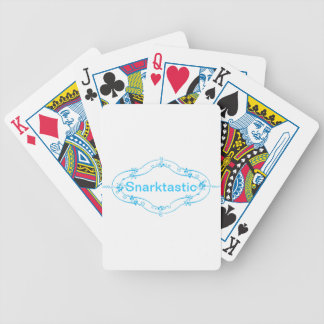 Snarktastic Playing Cards