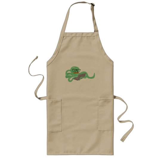 Snarktopus Internet Octopus Long Apron