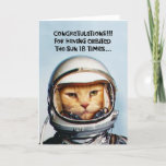 """Snarky 18th Birthday Card<br><div class=""""desc"""">Funny 18th Birthday Greeting Card for those anticipating a special award because they've turned eighteen years old</div>"""