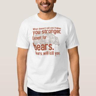 Snarky Bears will kill you Tee Shirt