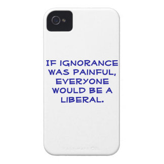 Snarky, caso favorable-Liberal del iphone 4S Case-Mate iPhone 4 Fundas