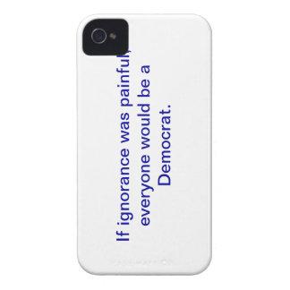 Snarky favorable-Demócrata, caso del iphone 4 iPhone 4 Protector