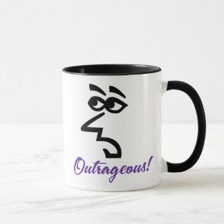 Snarky Lady Outrageous Coffee Mug