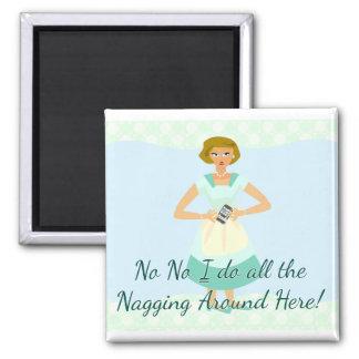 Snarky Nagging Smart Phone Slogan Magnet