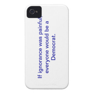 Snarky pro-Democrat, iphone 4 case