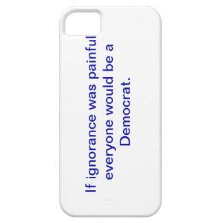 Snarky pro-Democrat, iphone 5 case