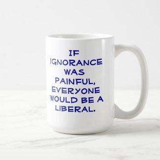 Snarky pro-Liberal coffee mug