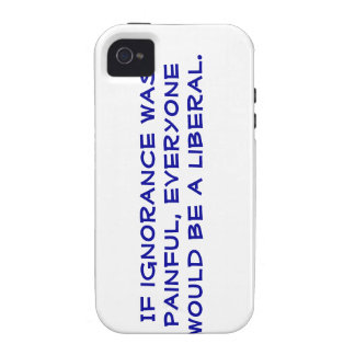 Snarky, pro-Liberal iphone 4s case. iPhone 4/4S Case