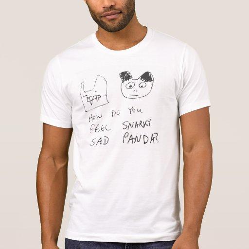 Snarky Sad Panda T-shirt