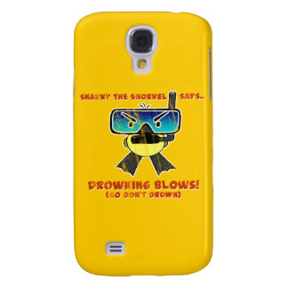 Snarky the Snorkel - Retro Galaxy S4 Cover