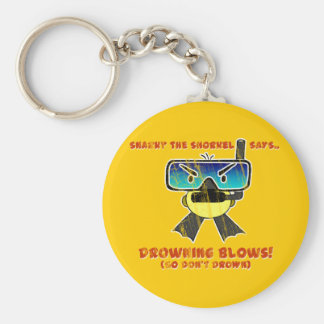 Snarky the Snorkel - Retro Keychains